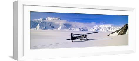 Scout Bush Airplane, Wrangell-St. Elias National Part, Alaska--Framed Art Print