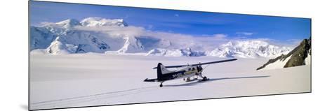 Scout Bush Airplane, Wrangell-St. Elias National Part, Alaska--Mounted Photographic Print