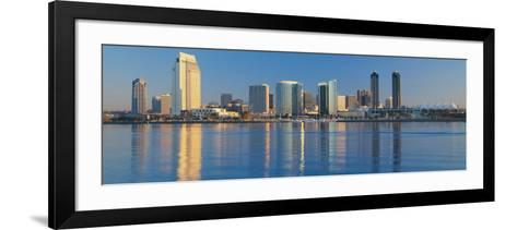 View from Coronado, San Diego, California--Framed Art Print