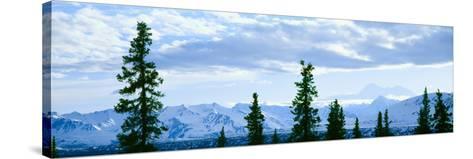 Mount Mckinley, Alaska--Stretched Canvas Print