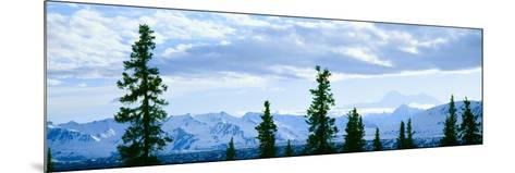 Mount Mckinley, Alaska--Mounted Photographic Print