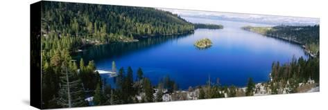 Lake Tahoe, California--Stretched Canvas Print