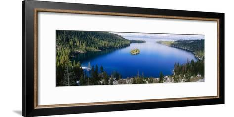 Lake Tahoe, California--Framed Art Print