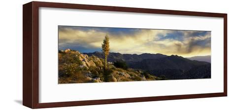 Clouds over Anza Borrego Desert State Park, San Diego County, California, Usa--Framed Art Print