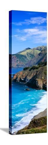 Turquoise Pacific Waters, California--Stretched Canvas Print