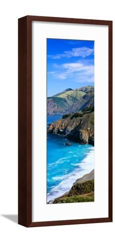 Turquoise Pacific Waters, California--Framed Art Print