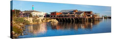 Old Fisherman's Wharf, Monterey, California, Usa--Stretched Canvas Print