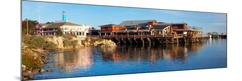 Old Fisherman's Wharf, Monterey, California, Usa--Mounted Photographic Print