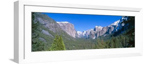 El Capitan and Half Dome in Yosemite, California--Framed Art Print