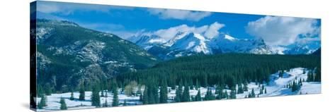 Molas Pass Summit, Million Dollar Highway Rte. 550, Colorado--Stretched Canvas Print