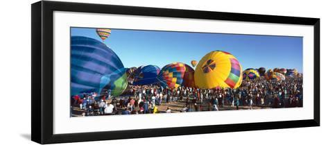 25th Albuquerque International Balloon Fiesta, New Mexico--Framed Art Print