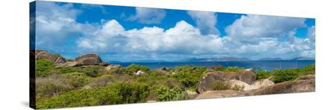 View from Top of the Baths on Virgin Gorda, British Virgin Islands--Stretched Canvas Print