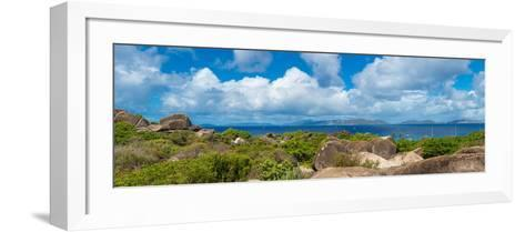 View from Top of the Baths on Virgin Gorda, British Virgin Islands--Framed Art Print