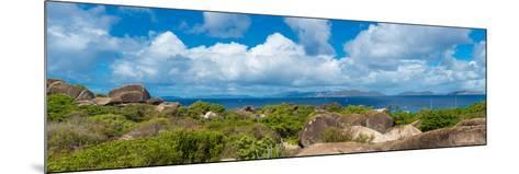 View from Top of the Baths on Virgin Gorda, British Virgin Islands--Mounted Photographic Print