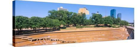 Fort Worth, Texas--Stretched Canvas Print
