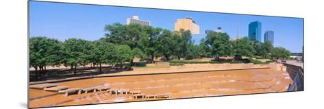 Fort Worth, Texas--Mounted Photographic Print