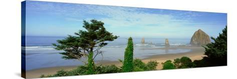 Cannon Beach, Oregon--Stretched Canvas Print