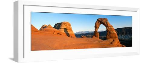 Delicate Arch in Utah--Framed Art Print