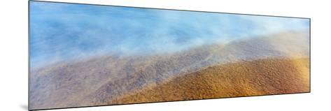 High Angle View of Waves on the Beach, Playas De Rosarito, Baja California Sur, Mexico--Mounted Photographic Print