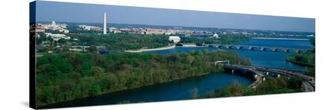 This Is an Aerial View of Washington--Stretched Canvas Print