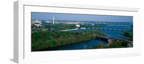 This Is an Aerial View of Washington--Framed Art Print