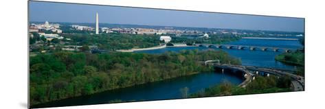 This Is an Aerial View of Washington--Mounted Photographic Print