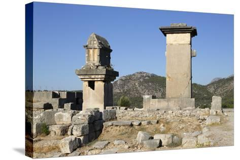Harpy Monument and Lycian Tomb-Stuart Black-Stretched Canvas Print
