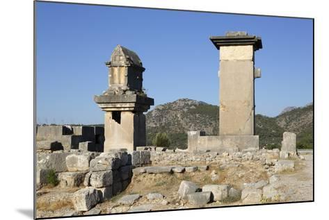 Harpy Monument and Lycian Tomb-Stuart Black-Mounted Photographic Print
