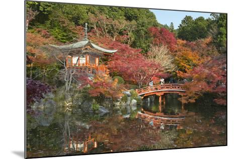 Japanese Temple Garden in Autumn, Daigoji Temple, Kyoto, Japan-Stuart Black-Mounted Photographic Print