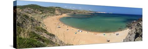 Panoramic View of Platja De Cavalleria (Cavalleria Beach)-Stuart Black-Stretched Canvas Print