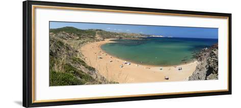 Panoramic View of Platja De Cavalleria (Cavalleria Beach)-Stuart Black-Framed Art Print
