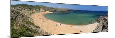 Panoramic View of Platja De Cavalleria (Cavalleria Beach)-Stuart Black-Mounted Photographic Print
