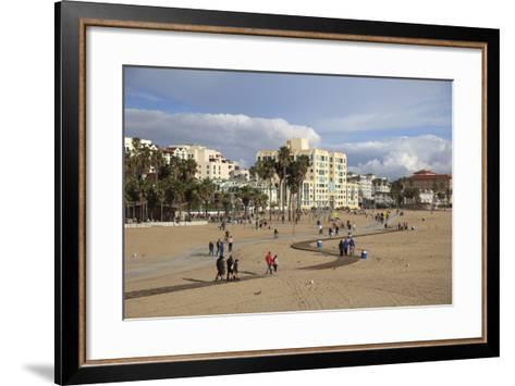 Santa Monica, Los Angeles, California, United States of America, North America-Wendy Connett-Framed Art Print