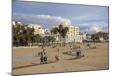 Santa Monica, Los Angeles, California, United States of America, North America-Wendy Connett-Mounted Photographic Print