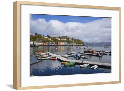 Tobermory Harbour, Isle of Mull, Inner Hebrides, Argyll and Bute, Scotland, United Kingdom-Gary Cook-Framed Art Print