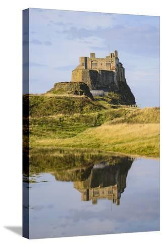 Lindisfarne Castle, Holy Island, Northumberland, England, United Kingdom, Europe-Gary Cook-Stretched Canvas Print