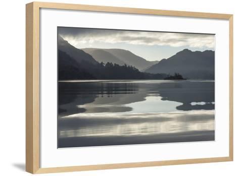 Ullswater, Little Island in November, Lake District National Park, Cumbria, England, UK-James Emmerson-Framed Art Print