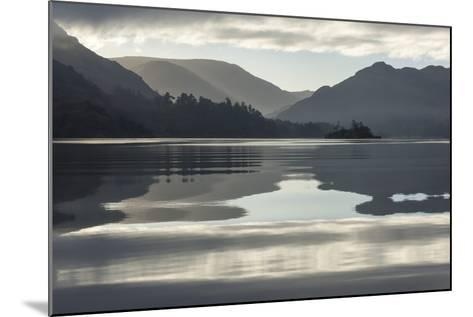 Ullswater, Little Island in November, Lake District National Park, Cumbria, England, UK-James Emmerson-Mounted Photographic Print