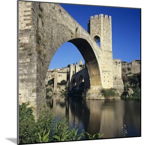 Medieval Bridge, Besalu, Catalunya (Costa Brava), Spain-Stuart Black-Mounted Photographic Print