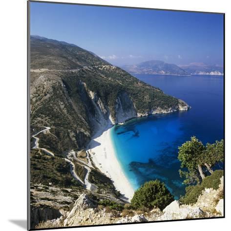 Myrtos Beach, North-West Coast, Kefalonia, Ionian Islands, Greek Islands, Greece-Stuart Black-Mounted Photographic Print