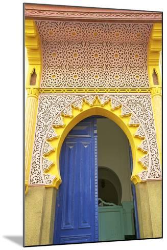 Entrance to Mosque, Tangier, Morocco, North Africa, Africa-Neil Farrin-Mounted Photographic Print