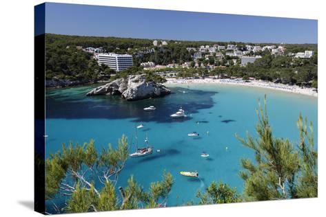 Cala Galdana, Menorca, Balearic Islands, Spain, Mediterranean-Stuart Black-Stretched Canvas Print