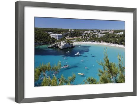 Cala Galdana, Menorca, Balearic Islands, Spain, Mediterranean-Stuart Black-Framed Art Print