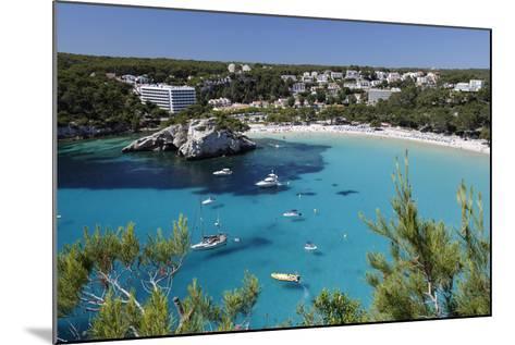 Cala Galdana, Menorca, Balearic Islands, Spain, Mediterranean-Stuart Black-Mounted Photographic Print