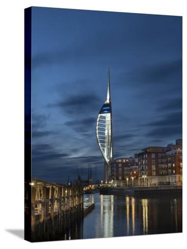 Spinnaker Tower, Portsmouth, Hampshire, England, United Kingdom-Charles Bowman-Stretched Canvas Print