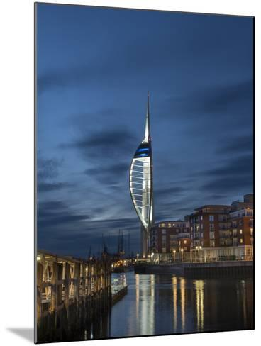 Spinnaker Tower, Portsmouth, Hampshire, England, United Kingdom-Charles Bowman-Mounted Photographic Print