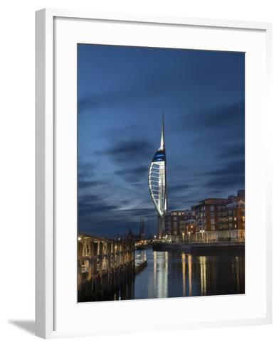 Spinnaker Tower, Portsmouth, Hampshire, England, United Kingdom-Charles Bowman-Framed Art Print