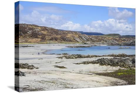 Uisken Beach, Near Bunessan, Isle of Mull-Gary Cook-Stretched Canvas Print