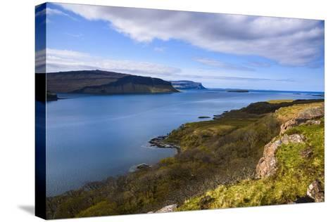 Loch Na Keal, Isle of Mull, Inner Hebrides, Argyll and Bute, Scotland, United Kingdom-Gary Cook-Stretched Canvas Print