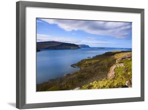 Loch Na Keal, Isle of Mull, Inner Hebrides, Argyll and Bute, Scotland, United Kingdom-Gary Cook-Framed Art Print